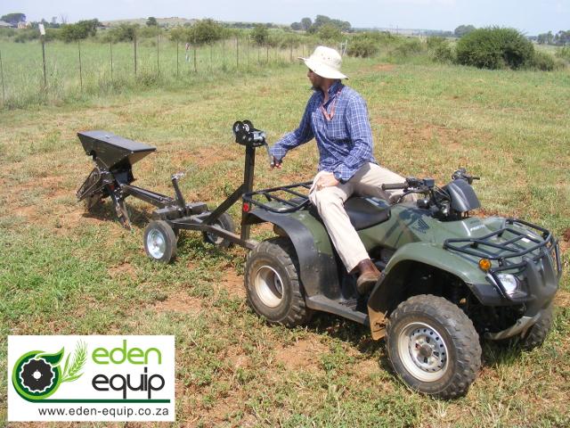 Quad Bike No-Till Maize Planter