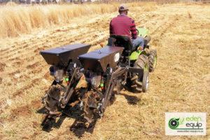 Mini-tractor No-till Maize Planter