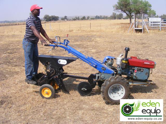 2WT two wheel tractor no till single row maize planter eden equip equipment