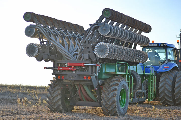 eden equip equipment piket planters air seeder disc