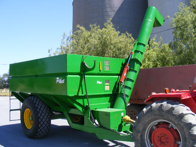eden equip equipment piket planters grain transfer cart