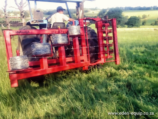 eden equip myburgh toerusting equipment fence post driver