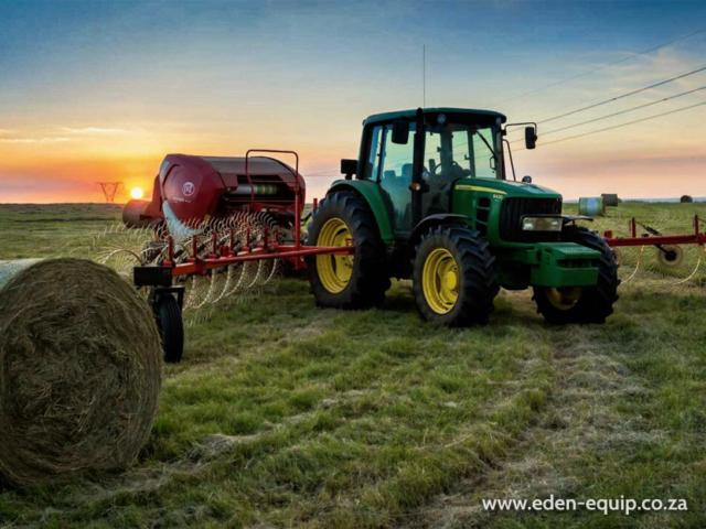 eden equip myburgh toerusting equipment hay grass handling